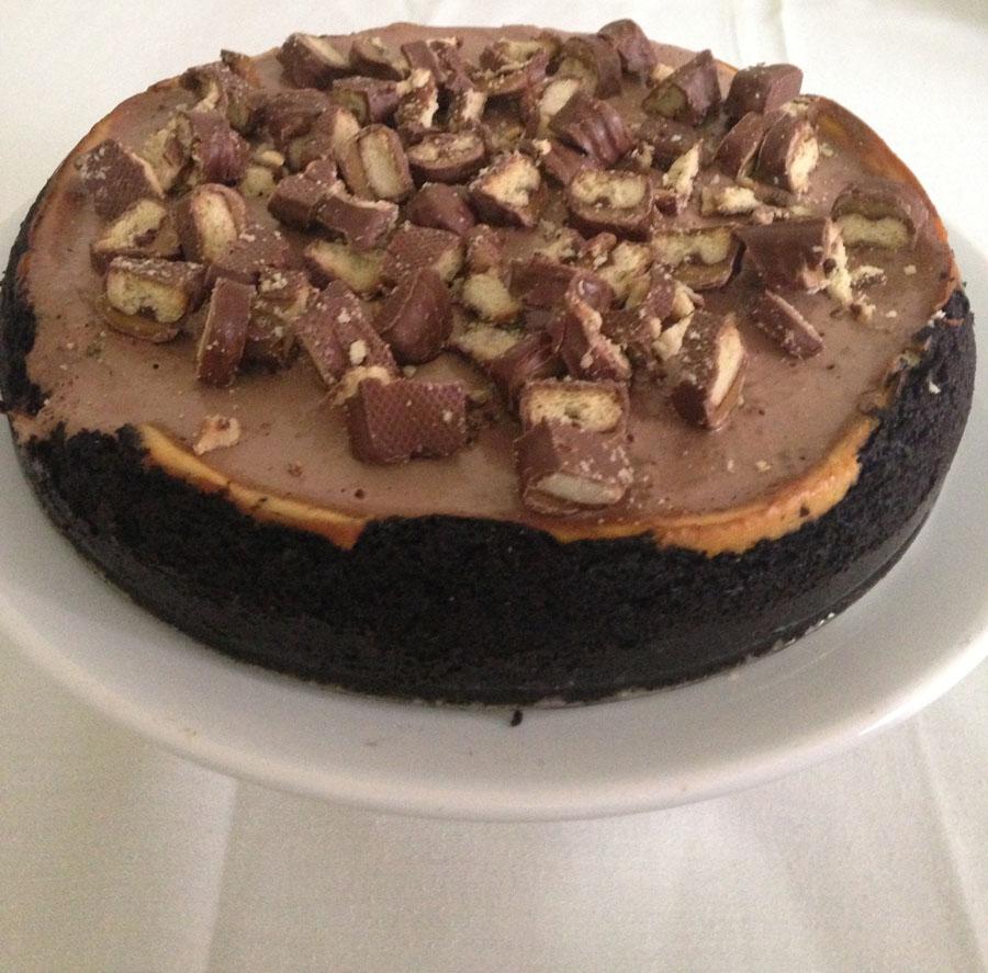 cheesecake de twix