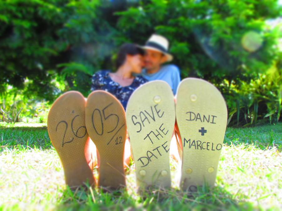 save the date – inspirações DIY