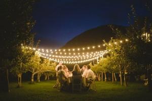 iluminação diferente para casamento