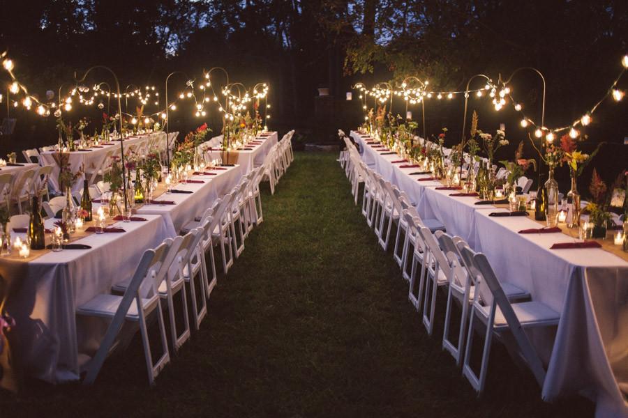 iluminaç u00e3o diferente para casamento -> Decoração Para Festa De Casamento Em Sitio A Noite