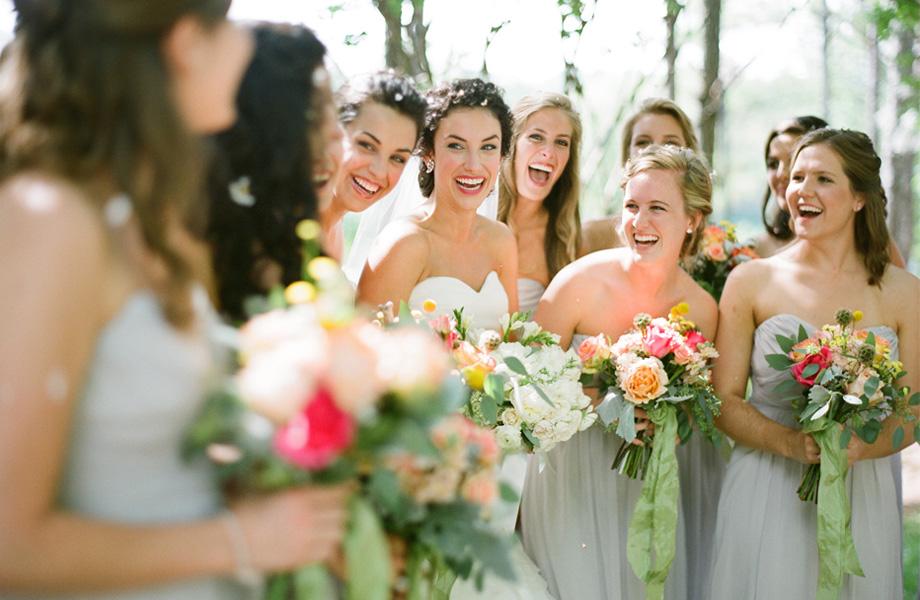 inspirações para bridesmaids/damas