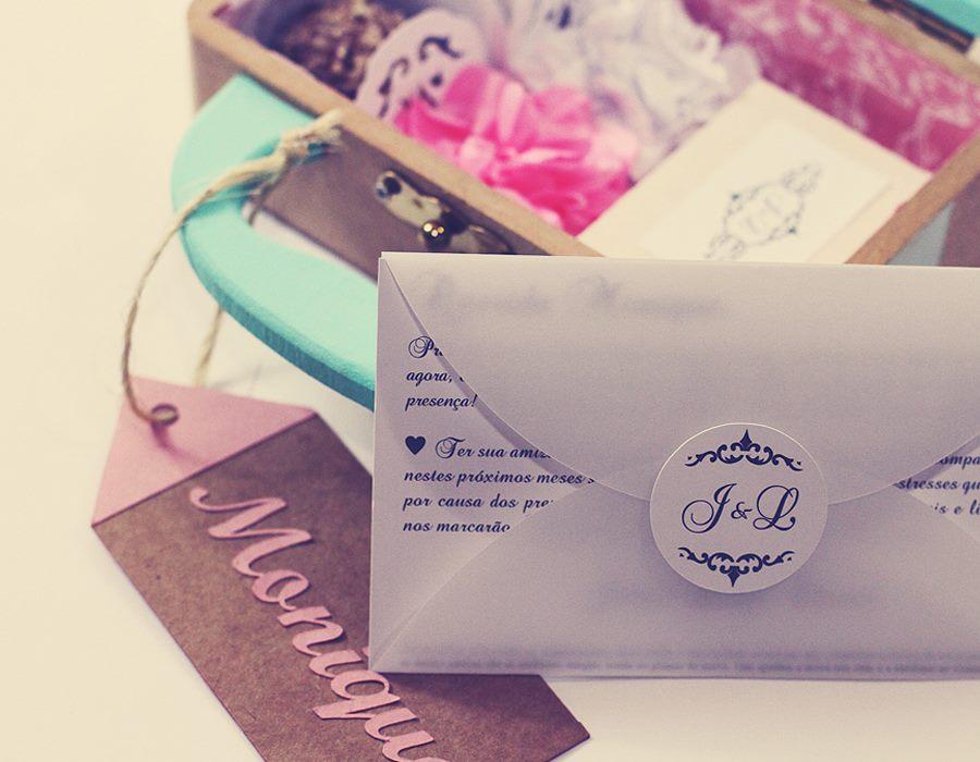 Convite fofo para Bridesmaid/Madrinha