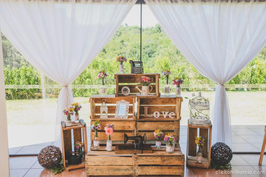 Casamento Rústico e Romântico – Fernanda & Guilherme