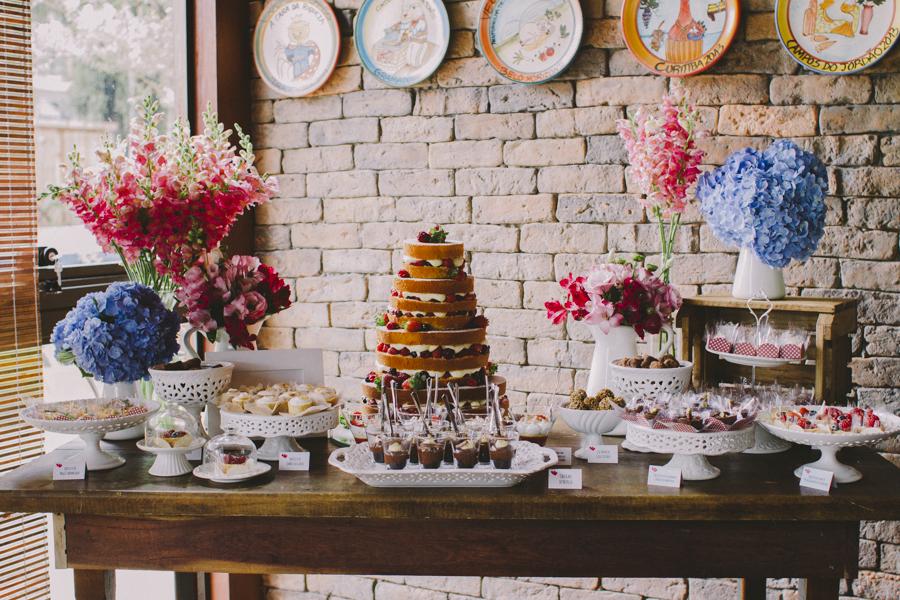 Casamento em uma Cantina – Aline & Luiz Paulo
