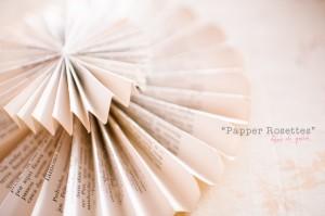"""{Diy} Aprendendo a fazer """"Paper Rosettes"""""""