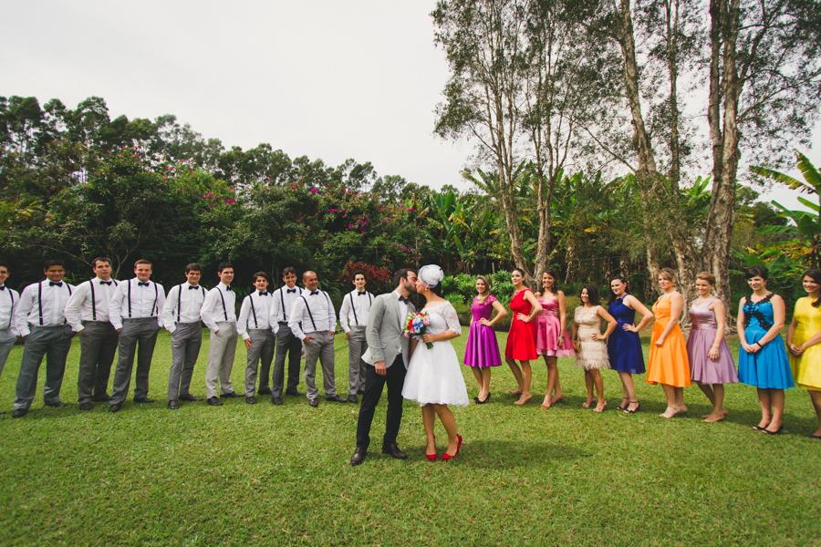 Casamento Colorido – Daniela & Valdimir