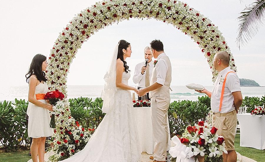 Casamento colorido na Tailândia – Sharon & Simon