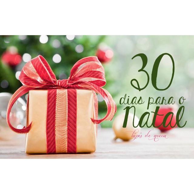 Contagem regressiva para o natal! Nós amamos festa, família e a alegria dessa época do ano!!! ???#30diasparaonatal #natal #amolapisdenoiva