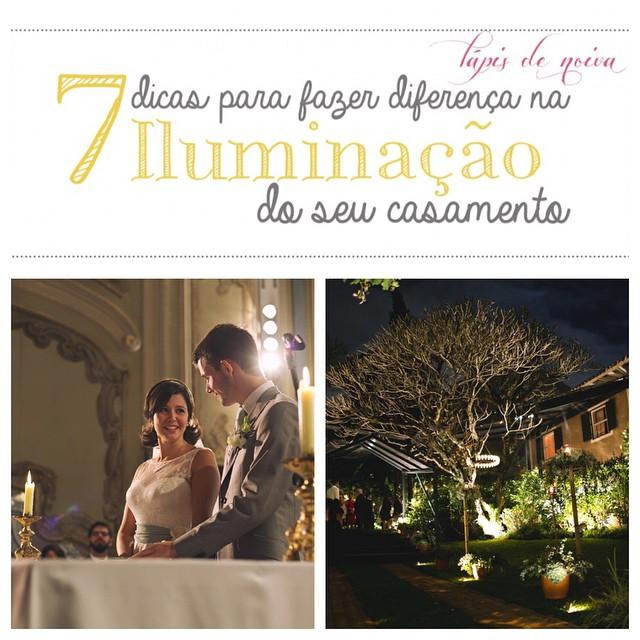Hoje no #lapisdenoiva, dicas super úteis da @casadedois e do fotógrafo @rafaelcanuto sobre iluminação do casamento! Vale a pena a leitura e se ficar alguma dúvida, deixe um comentário no post ♥️ #amolapisdenoiva #iluminacaodocasamento #dicasuteis #casamento #fornecedorlapisdenoiva {fotos: @rafaelcanuto}