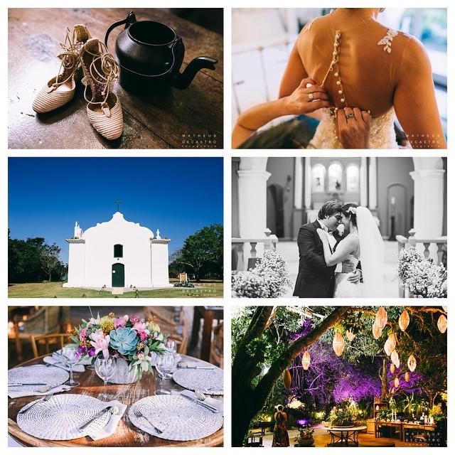 Registros de um lindo dia em Trancoso!♥️ O casamento da Ana Beatriz & Saulo por @matheusdecastrofoto no www.lapisdenoiva.com (Esse céu nao está incrível?) #destinationwedding #amolapisdenoiva #casamentodedia #beautifulday #weddingday #lapisdenoiva