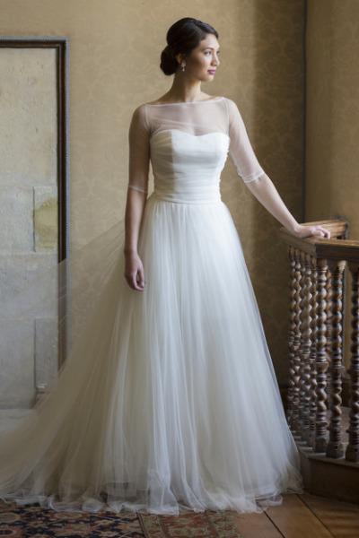 Vestido De Noiva Quot Tule Ilusione Quot L 225 Pis De Noiva