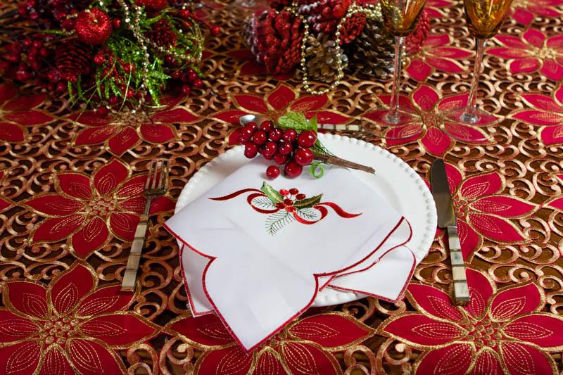 Dicas para a mesa de natal :)