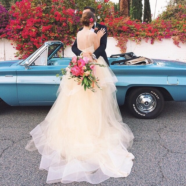 Seja bem-vinda, sexta! ♥️? #amolapisdenoiva #sextafeira #muitoamor #justmarried #felizesparasempre {foto: @katiestoops}