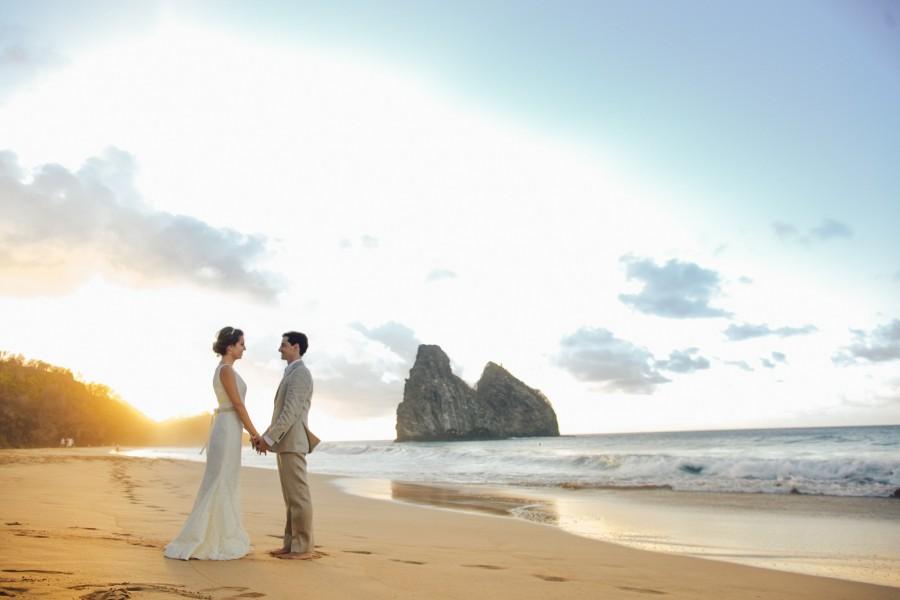 Casamento dos Sonhos em Fernando de Noronha – Alê & Rafa