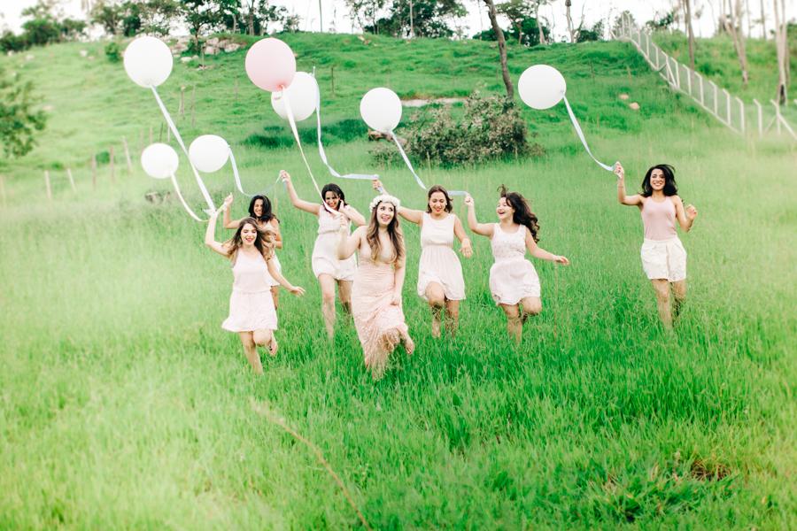 Um Dia de Amor – Noiva + Madrinhas
