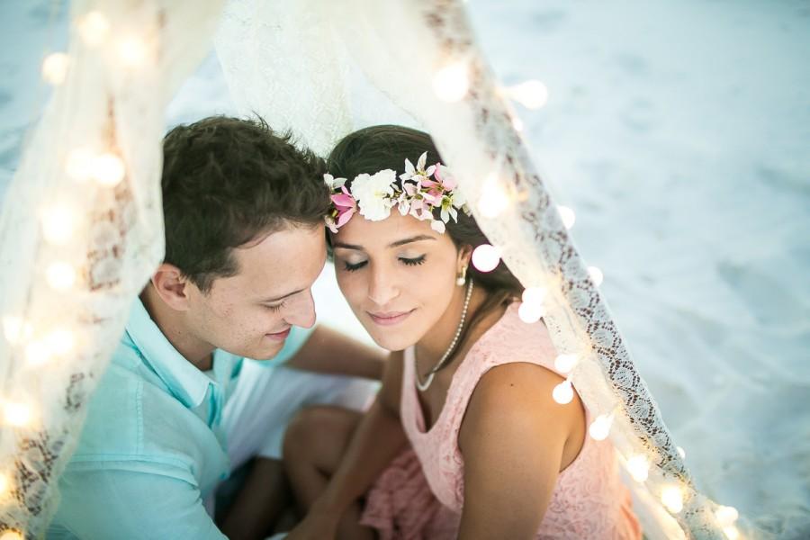 Pré-casamento na praia – Larissa & Renato
