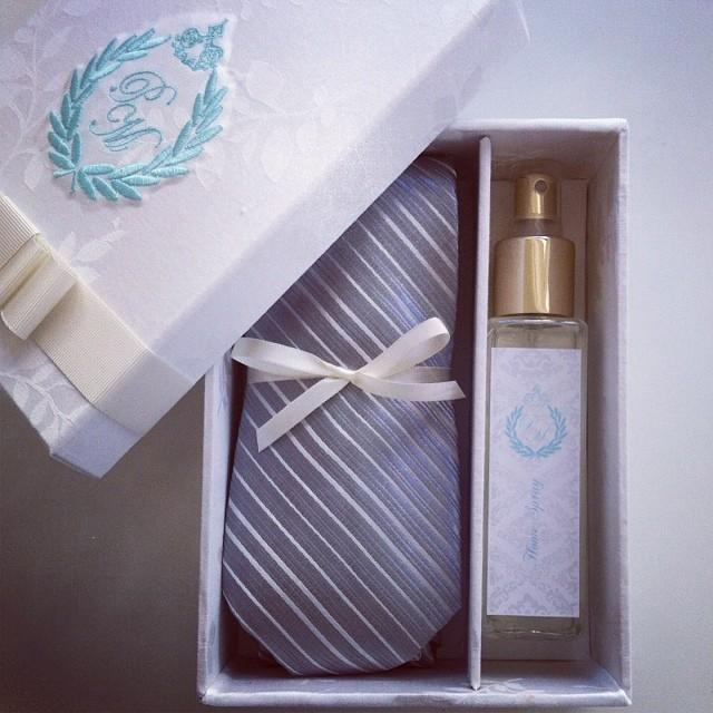 caixa com perfumaria