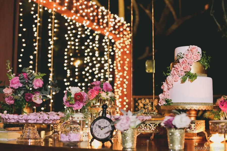 Casamento Rosa + Dourado – Keivy & Jõao