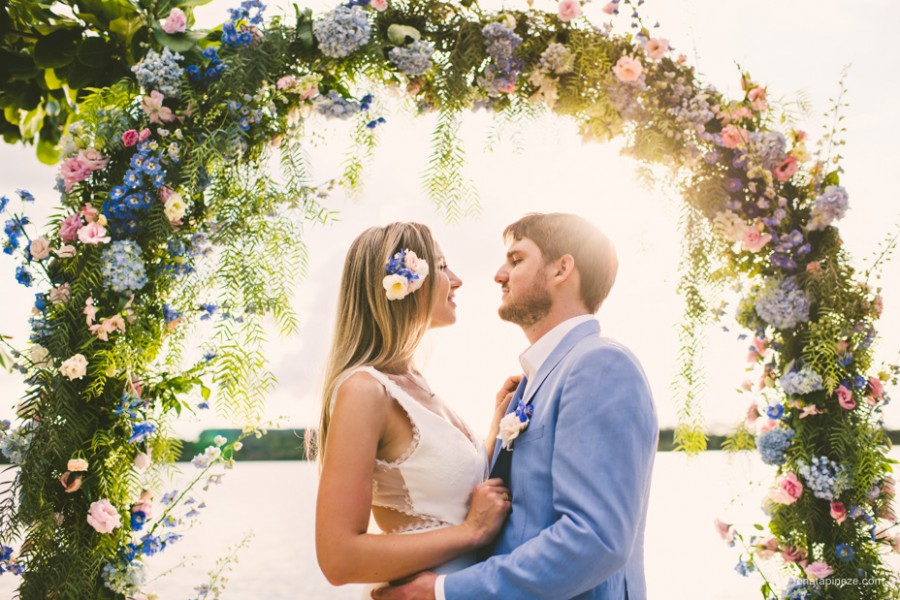 Destination Wedding no Brasil – Tatiana & Miguel