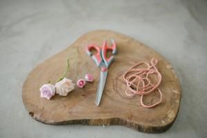 {Diy} Headpiece de flores artificiais