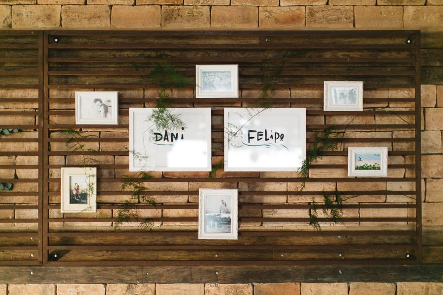 Casamento cheio de amor – Dani & Felipe