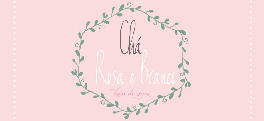 Chá Branco e Rosa