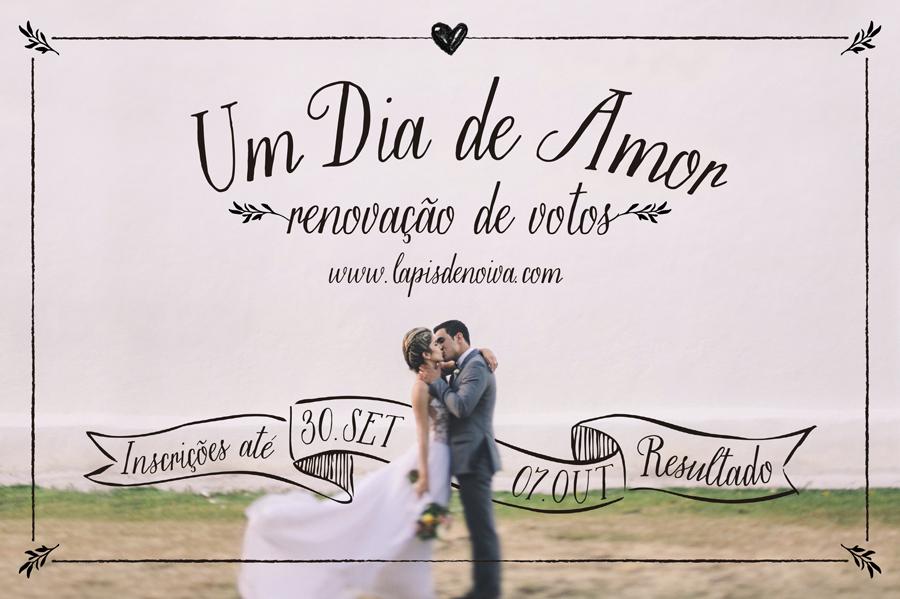 Concurso um dia de amor renova o de votos l pis de for Renovar votos de casamento