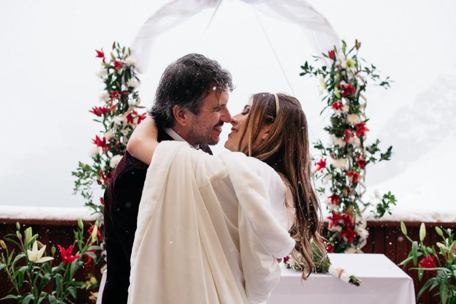 Casamento na neve – Gabrielle & Patrick