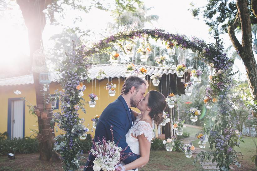 Casamento no jardim de casa – Marina & Luis