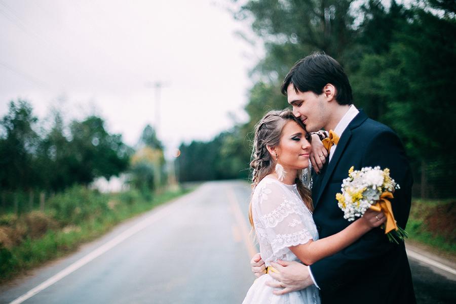 Casamento rústico – Luana & Guilherme