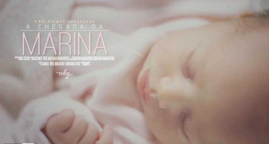 """Vídeo de Nascimento – """"A Chegada da Marina"""""""