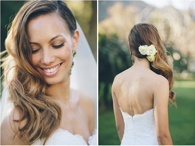 Side-Swept-Waves-Curls-Wedding-Hairstyle-12