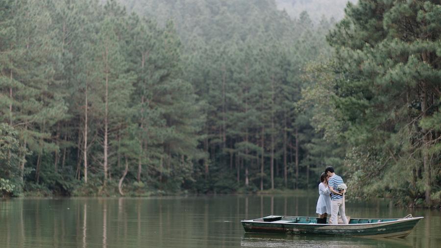 Picnic no lago – Pré-casamento Daiane & João