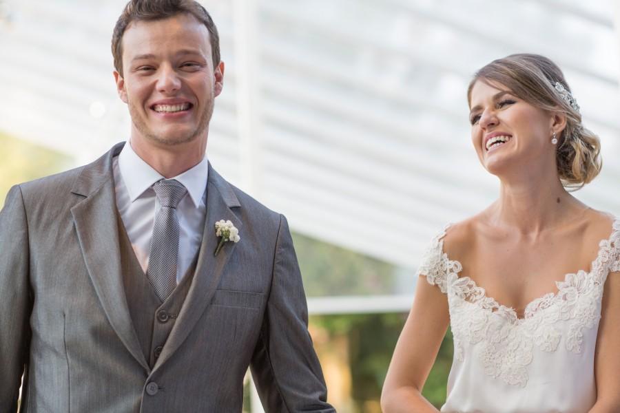 Casamento lindo e delicado – Henrriet & Diego
