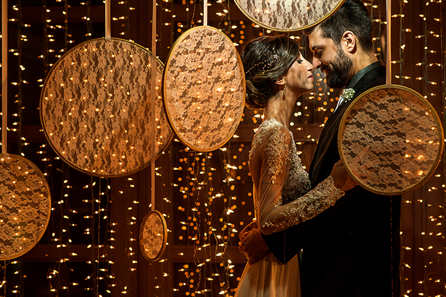 Casamento com amor em cada detalhe – Lariz & Dudi