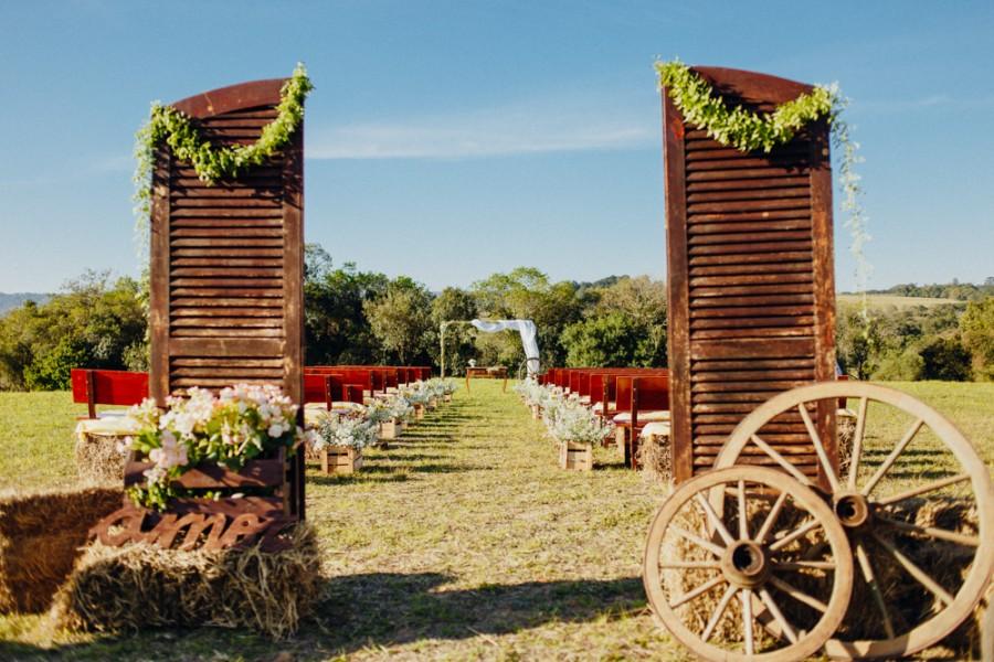 Casamento rústico + country – Shar & Clayton