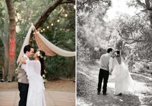 Casamento Boho em meio à natureza