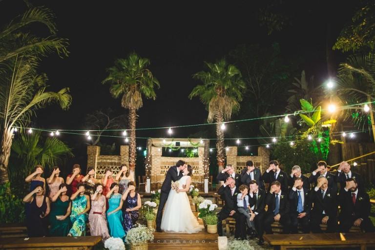 Casamento noturno ao ar livre – Renata & Filippe