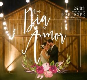 Um Dia de Amor no Celeiro – Noivos 2016