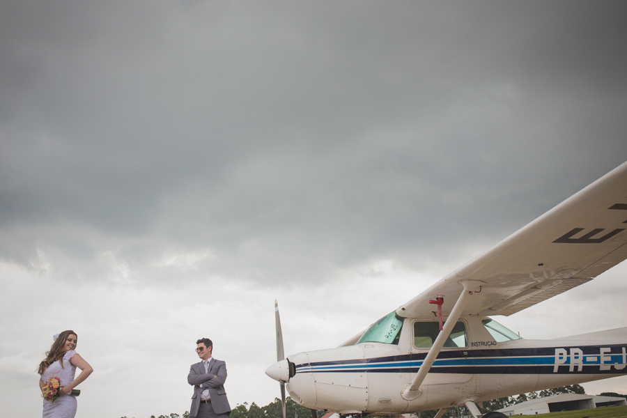 Casamento no Aeroporto – Marilia & Edson