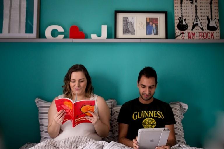 Pré casamento em casa – Carol & Jonatha