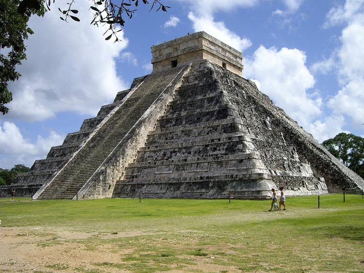 chichen-itza Riviera Maya foto bco de imagens pixabay