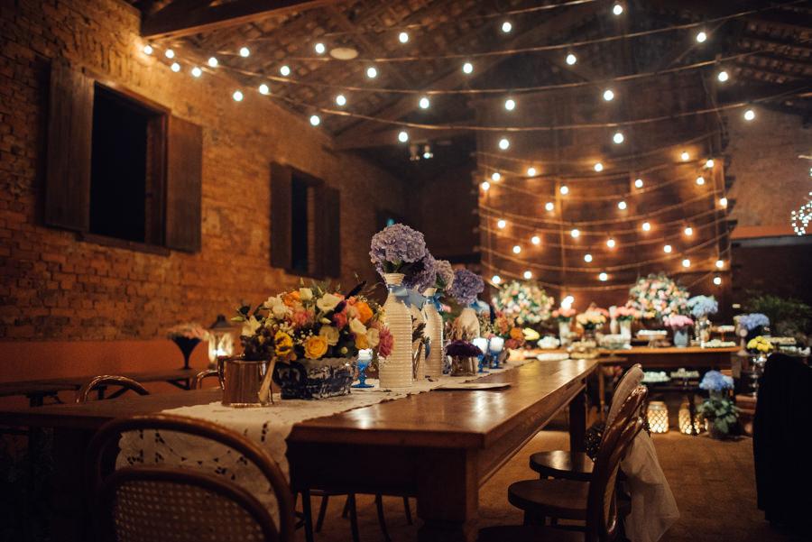 Casamento romântico na fazenda – Juliana & Fila