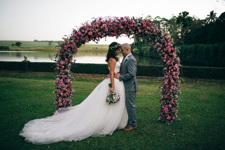 Casamento Rústico/Romântico na Fazenda – Camila & Chadi