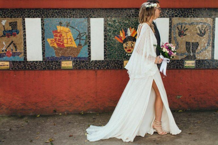 Casamento intimista e moderninho em São Paulo – Carol & Rodrigo