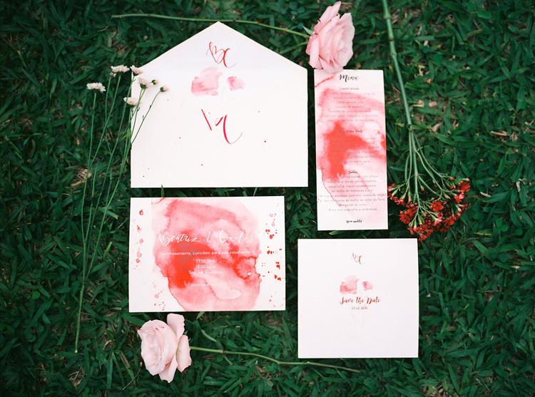 {Editorial} Styled Shoot Florals – Vermelho pode ser lindo e delicado