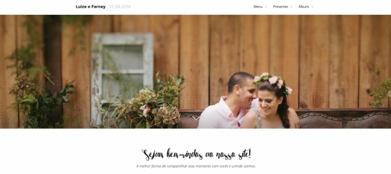 Site personalizado no iCasei