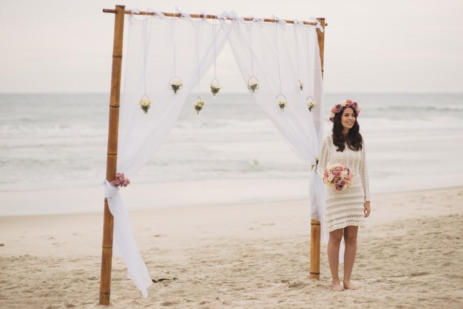 Renova o de votos surpresa na praia naiade felipe for Renovar votos de casamento