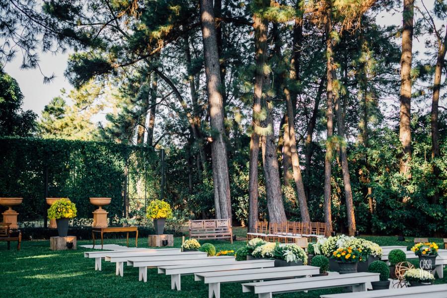 Casamento ao ar livre em Ribeirão Preto – Simone & Filipe