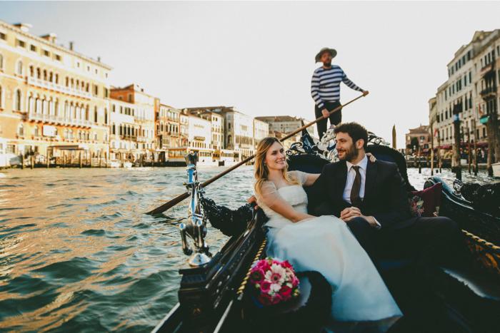 Casamento a Dois em Veneza – Cristina & Fabio